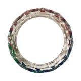 crystal cirkel Arkivbild
