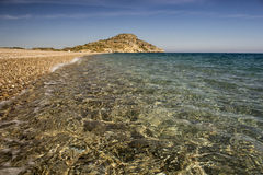 Crystal clarity of Mediterranean Sea Royalty Free Stock Photo