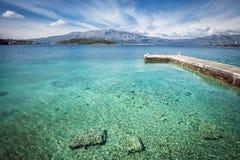 Crystal clean sea Stock Photos
