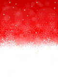 Crystal clean snow background Royalty Free Stock Photos