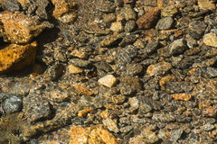 Crystal Clear Creek with Rocky Bottom Royalty Free Stock Photo