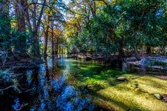 The Crystal Clear Frio River. Stock Photos