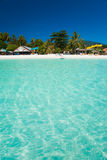 Crystal Clear Ocean Water Paradise Island Royalty Free Stock Photos
