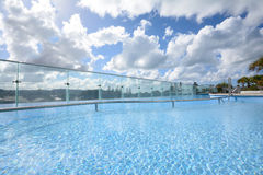 Crystal clear pool Stock Image