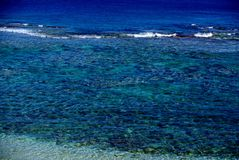 Crystal Clear - The Reef of Niue Stock Images