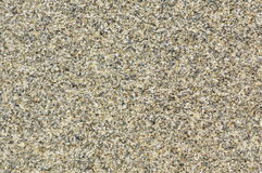 The crystal clear sand. In macro, ordinary sand has crystal clear texture Stock Photography