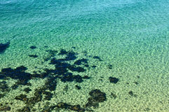 Crystal clear sea Royalty Free Stock Images