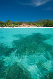 Crystal Clear Sea Resort Island Paradise Vertical Stock Photography