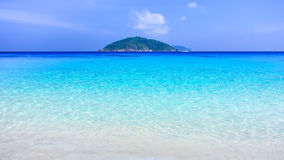 Crystal clear sea Royalty Free Stock Photography