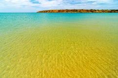Crystal Clear Sea Water stockfotos