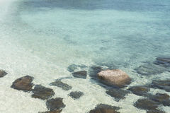Crystal clear sea water Stock Photo