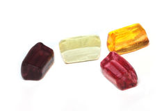 Crystal clear sugar candy Stock Image