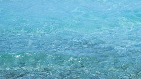 Clear seawater texture. Crystal clear tropical seawater background royalty free stock photos