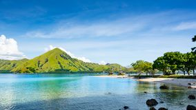 A Crystal Clear Turquoise Water stock images