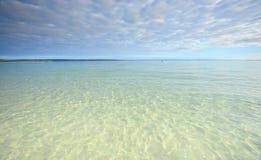 Crystal Clear-Wasser von Jervis Bay lizenzfreie stockfotografie