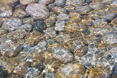 Crystal Clear Water Royalty Free Stock Photos