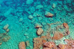 Crystal clear water Royalty Free Stock Photography
