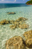 Crystal Clear Water Royalty Free Stock Photo