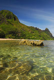 Crystal clear water in Hawaii Royalty Free Stock Image