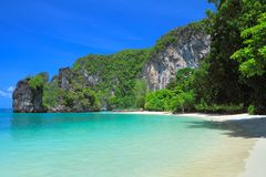 Hong bay Kra bi Andaman sea of Thailand Royalty Free Stock Photos