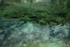 Free Crystal Clear Water In Small Pond With Stones On The Bottom Royalty Free Stock Images - 146740459