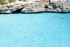Crystal Clear Water, Mediterranean Sea Royalty Free Stock Image