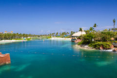 Crystal Clear Water in Nassau Royalty Free Stock Photos