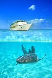 Crystal clear waters Royalty Free Stock Photography