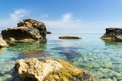 Crystal clear waters Stock Photo