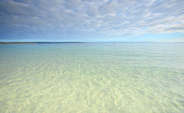 Crystal Clear waters of Jervis Bay Royalty Free Stock Photography