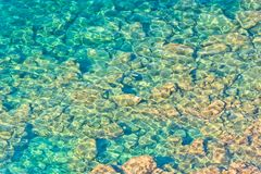 Crystal clear waters Stock Photos