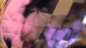 Crystal Closeup rojo metrajes