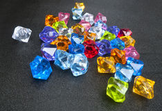 Crystal colorful Stock Photos