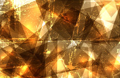 Crystal composition Royalty Free Stock Image