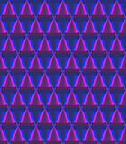 Crystal of cone pattern Royalty Free Stock Image