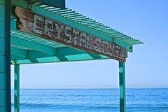 Crystal Cove California-teken royalty-vrije stock foto's