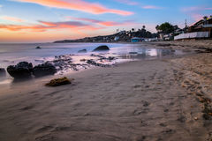 Crystal cove in Newport Beach Royalty Free Stock Photography