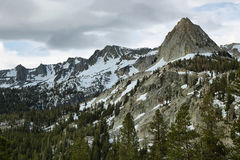 Crystal crag in Mammoth lakes, California Stock Image