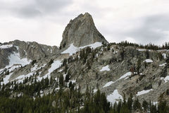 Crystal crag in Mammoth lakes, California Royalty Free Stock Photography