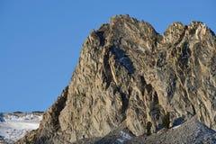 Crystal Crag, réserve forestière d'Inyo, sierra Nevada Range, la Californie Images stock