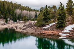 Crystal Creek Reservoir Photographie stock