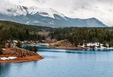 Crystal Creek Reservoir Royalty Free Stock Photography
