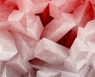 Crystal cubes Stock Images