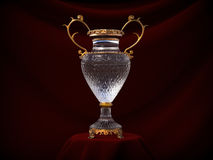 Crystal cup Stock Image