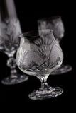 Crystal cut glass Stock Photo