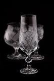 Crystal cut glass Royalty Free Stock Image