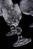Crystal cut glass Royalty Free Stock Photo