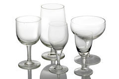 Crystal cut glass. Stock Photos