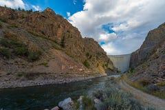 Crystal Dam Gunnison River Colorado Fotos de archivo