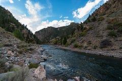 Crystal Dam Gunnison River Colorado Imagen de archivo libre de regalías
